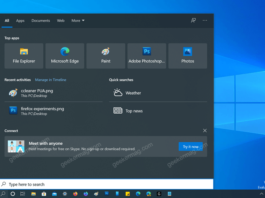How to Get rid of Skype ads in Windows 10 Search UI