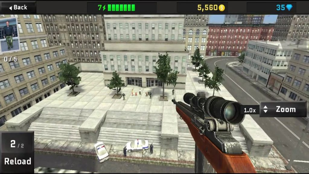 Sniper OPS 3D Screenshot