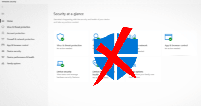 Disable Windows Defender in Windows 10 If AntiSpyware option not working