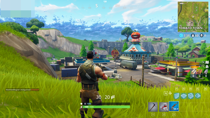 Fortnite Game Screenshot