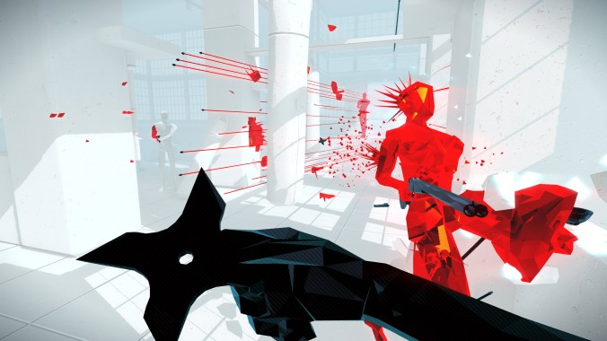 Superhot Game Screenshot