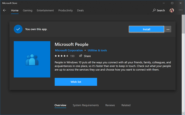 download people app