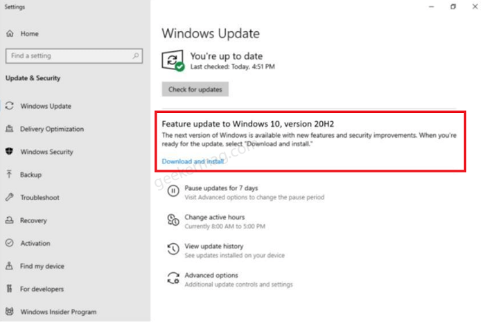 How to Get Windows 10 October 2020 Update (Before Anyone Else)