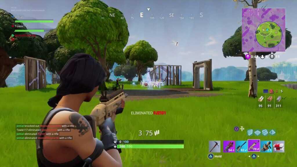 fortnite aiming shooting tips