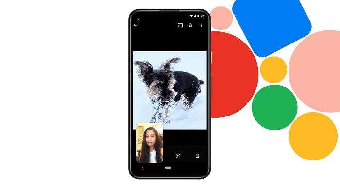 screen sharing in google duo