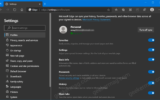 Microsoft Testing History and Open Tab Sync feature in Edge Canary
