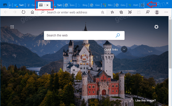 How to Enable or Disable Scrollable TabStrip in Microsoft Edge