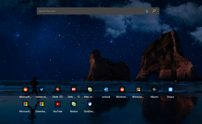 Microsoft Edge will allow more Top Sites in New Tab Page