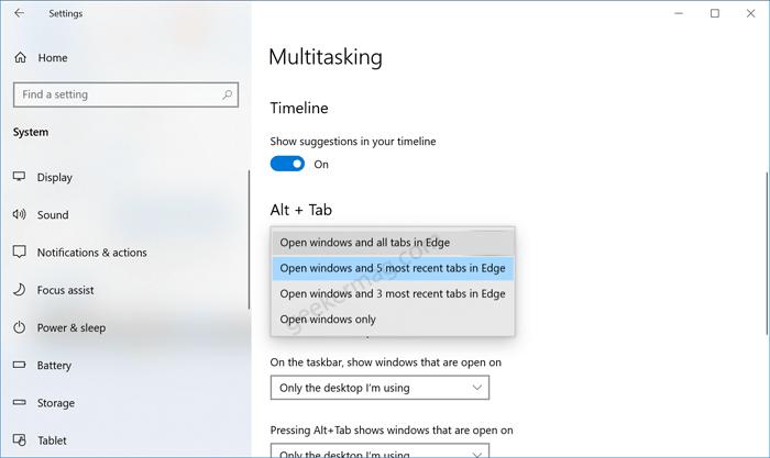 windows alt tab