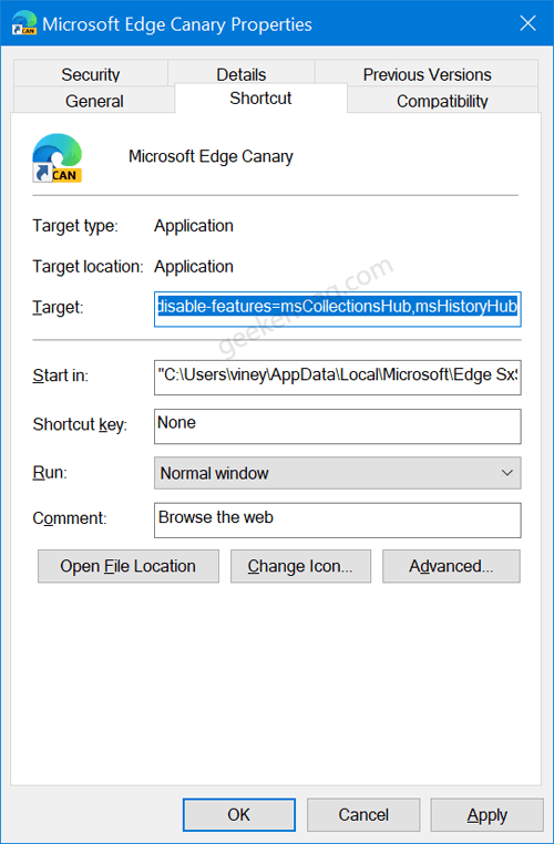 Disable Multiple Flyout Menus in Edge