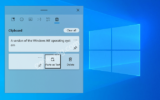How to Paste as plain text in clipboard history on Windows 10 (21318)