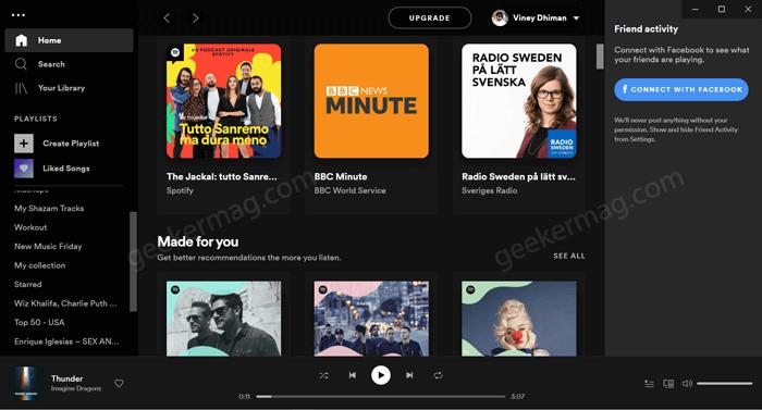 Spotify UI Refresh 2021