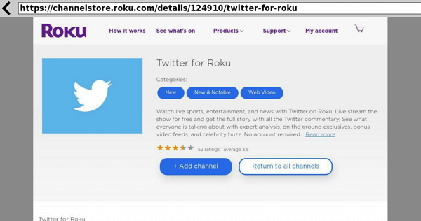 Web browser x for roku