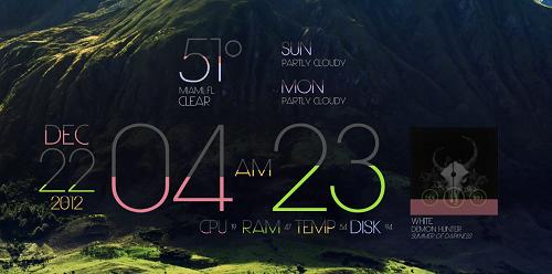 Lim!t[1.2] rainmeter skin