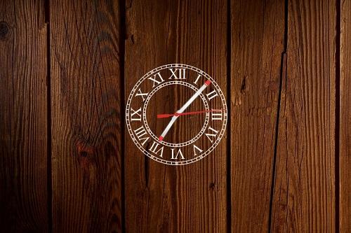 Roman Style Clock Skin
