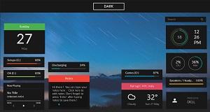 Dark Simplistic Flat Rainmeter Theme