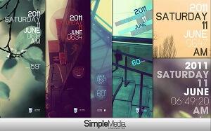 Simple Media Rainmeter Theme