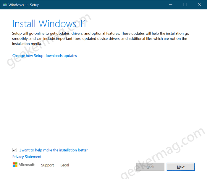 Windows 11 Setup File