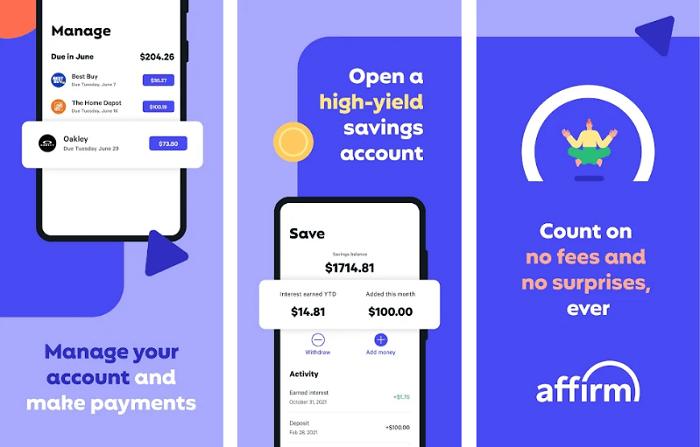 Advance cash app - affirm