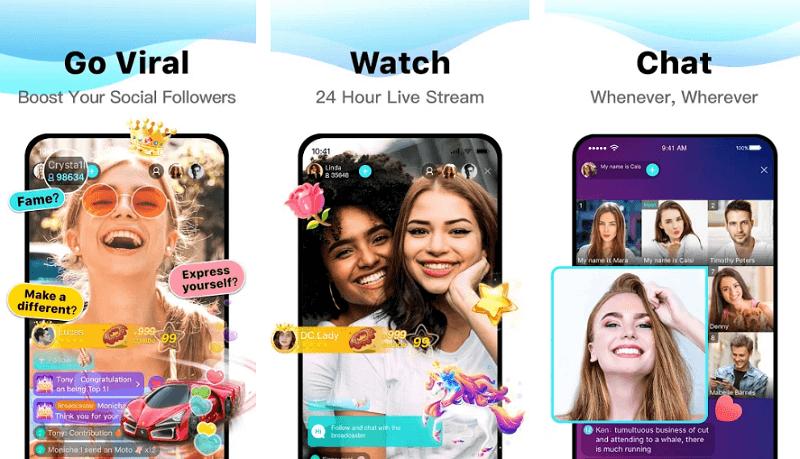 Bigo live - Snapchat alternative