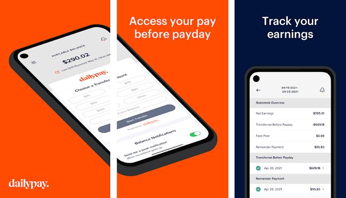 Advance cash app - daily pay