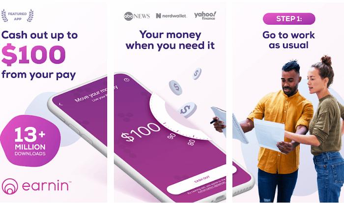 Advance cash app - earnin