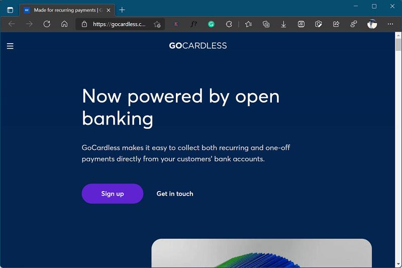 GoCardless - site like klarna
