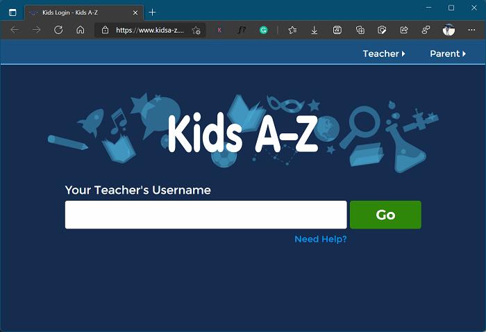 Kids A-Z  - Kahoot Alternative