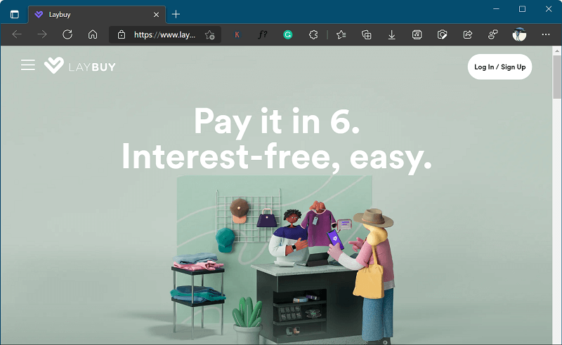 Laybuy- app like klarna