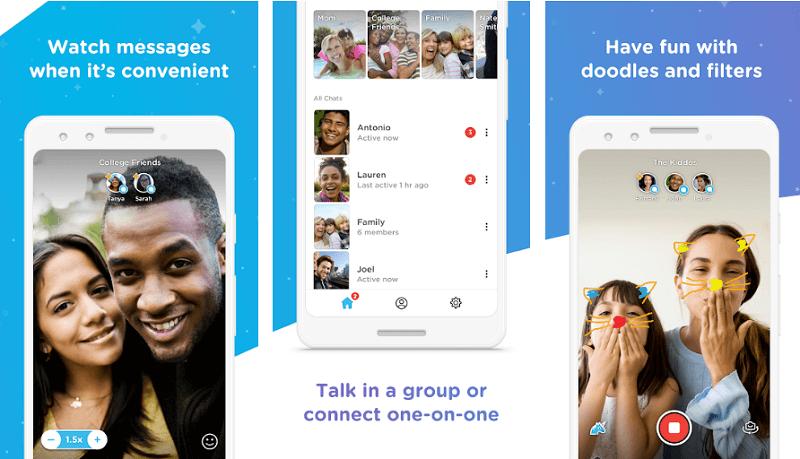 Marco polo - Snapchat alternative