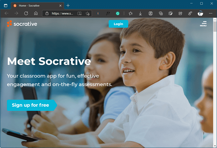 Socrative - kahoot alternative