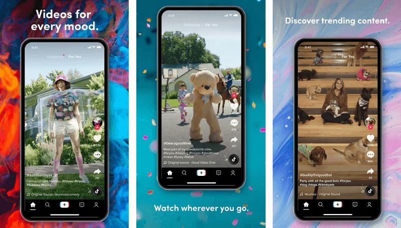 TIkTok- Snapchat alternative