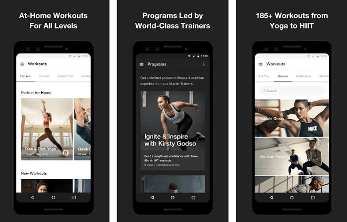 Nike Training Club - Best Fitness Apps
