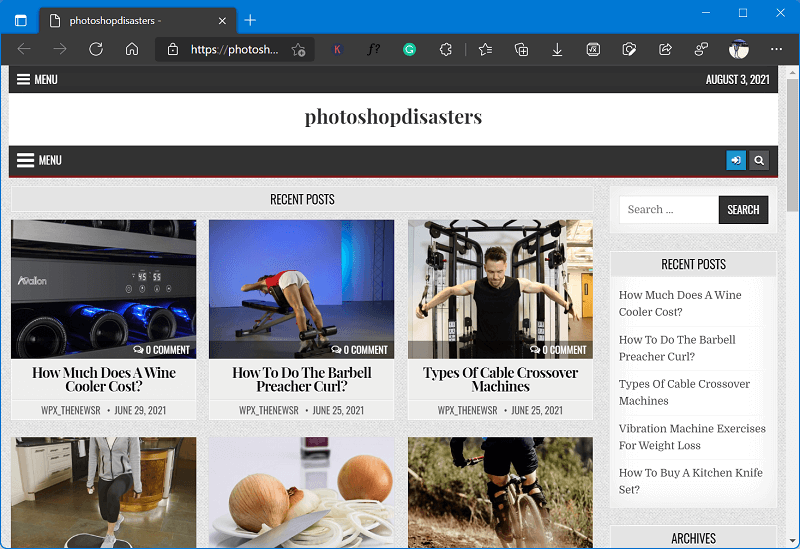 website like Bored Panda - PS Disaster
