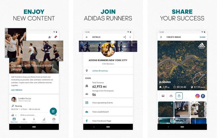 Addidas runtastic - Best Fitness Apps
