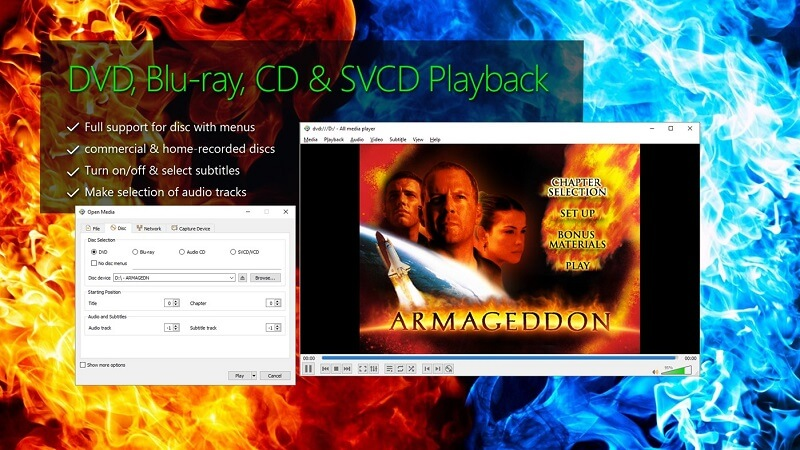 All Media Player for Windows 10