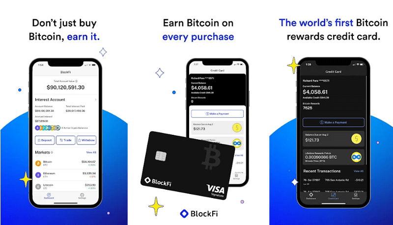 Blockfie - best cryptocurrency apps for android and iso