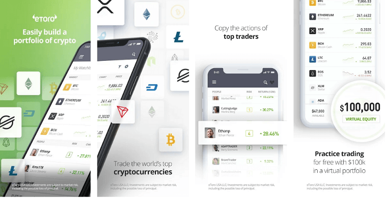 etoro - best cryptocurrency apps for android and iso
