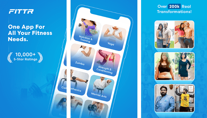 fittr - Best Fitness Apps