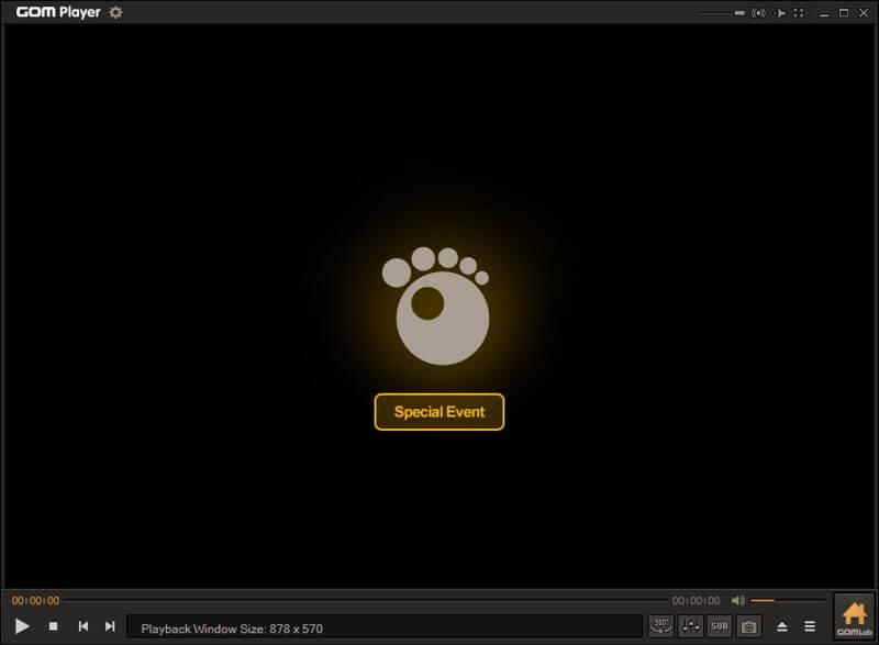 GOM Player for Windows 10