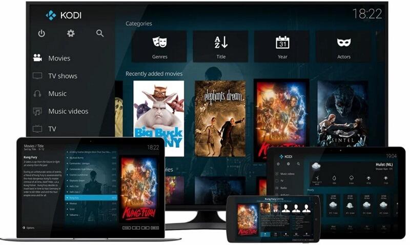KODI Player for Windows 10