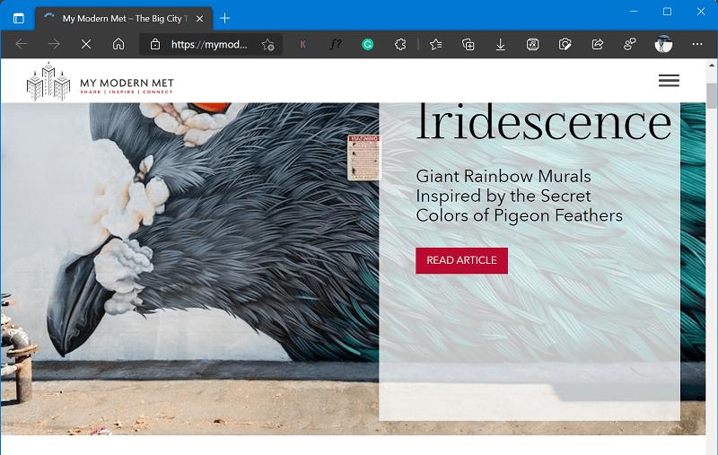 website like Bored Panda - My Modern Met