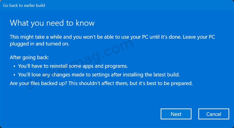 What you need to know - Windows 1