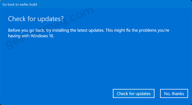 Check for updates - Windows 11