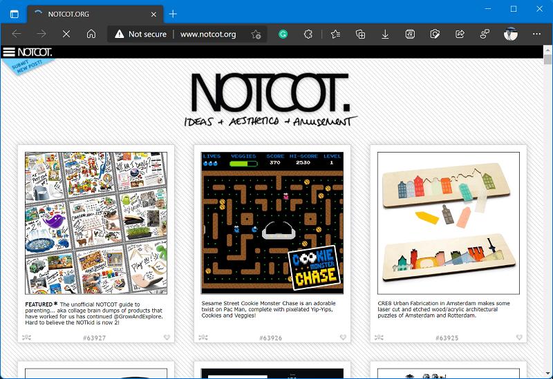 website like Bored Panda - Notcote