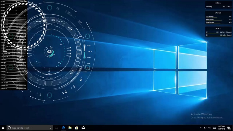 Rainmeter for Windows 10