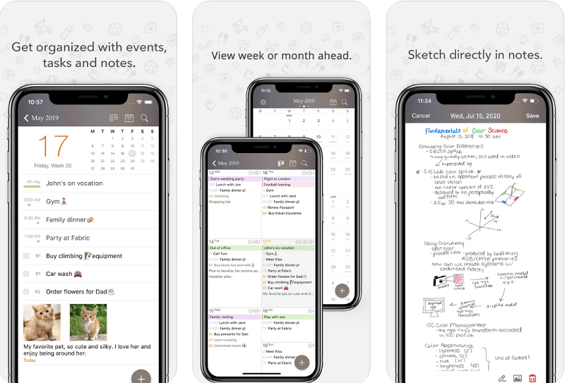 PLanner pro app for iphone