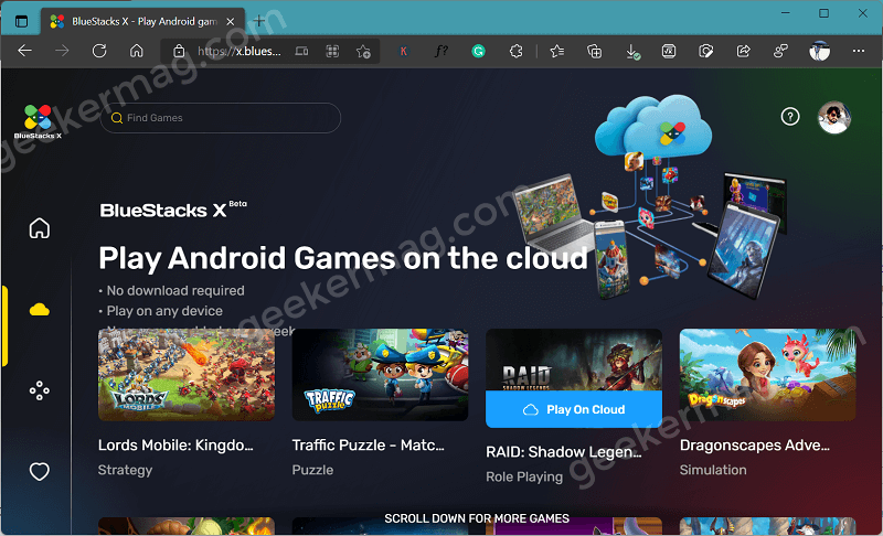 How to Play Android Games on BlueStacks X