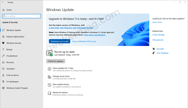 upgrade to windows 11 ready