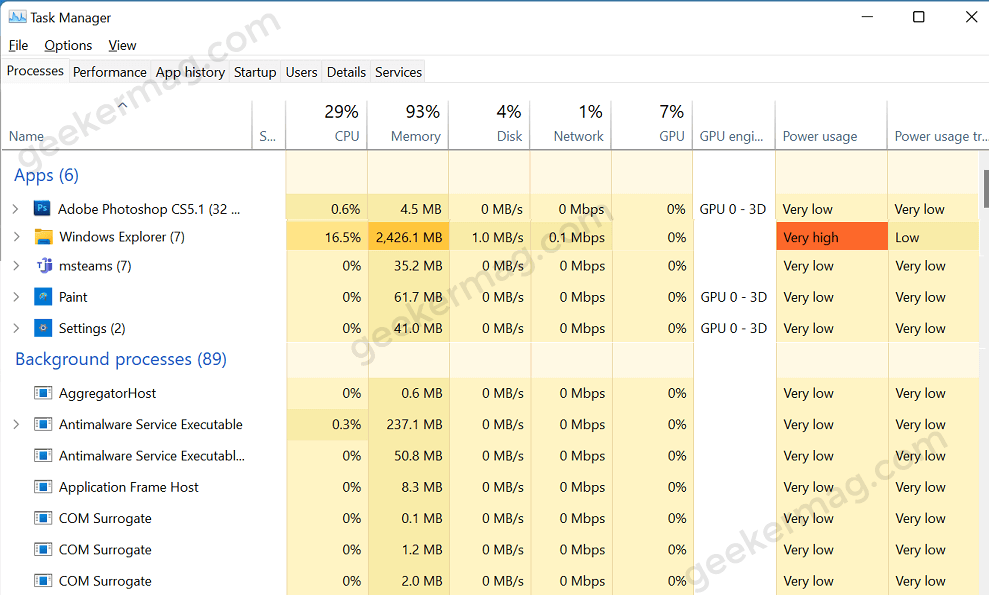 Fix - Windows 11 File Explorer High Memory Usage Bug